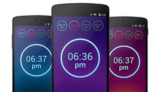 Neon Alarm Clock | andromin