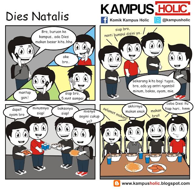 #037 Berkah Dies Natalis di universitas holic