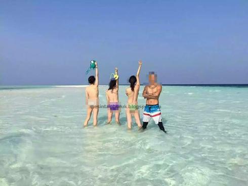 Lagi kes pelancong berbogel di Sabah
