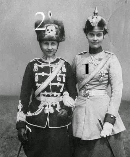 Cecilie et Viktoria Luise de Prusse