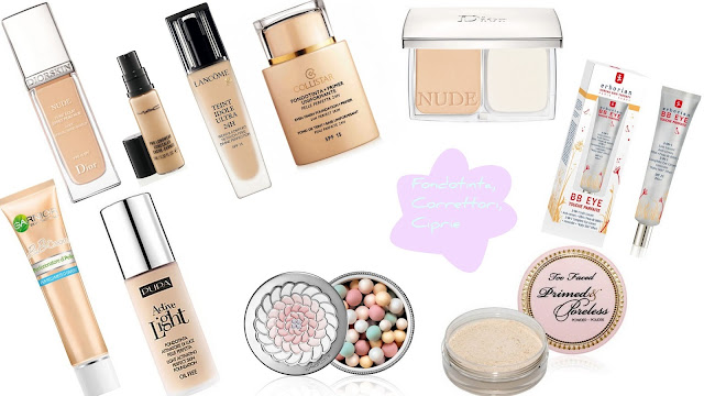 migliori prodotti beauty make up 2012 fondotinta cipria correttore mac cosmetics dior bb cream garner collistar lancome pupa erborian guerlain too faced