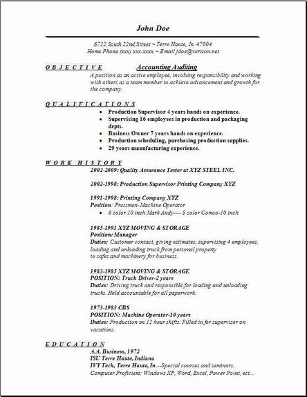 Accountant Sample Cv2