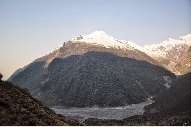 Baluni top as seen from Kathaliya valley