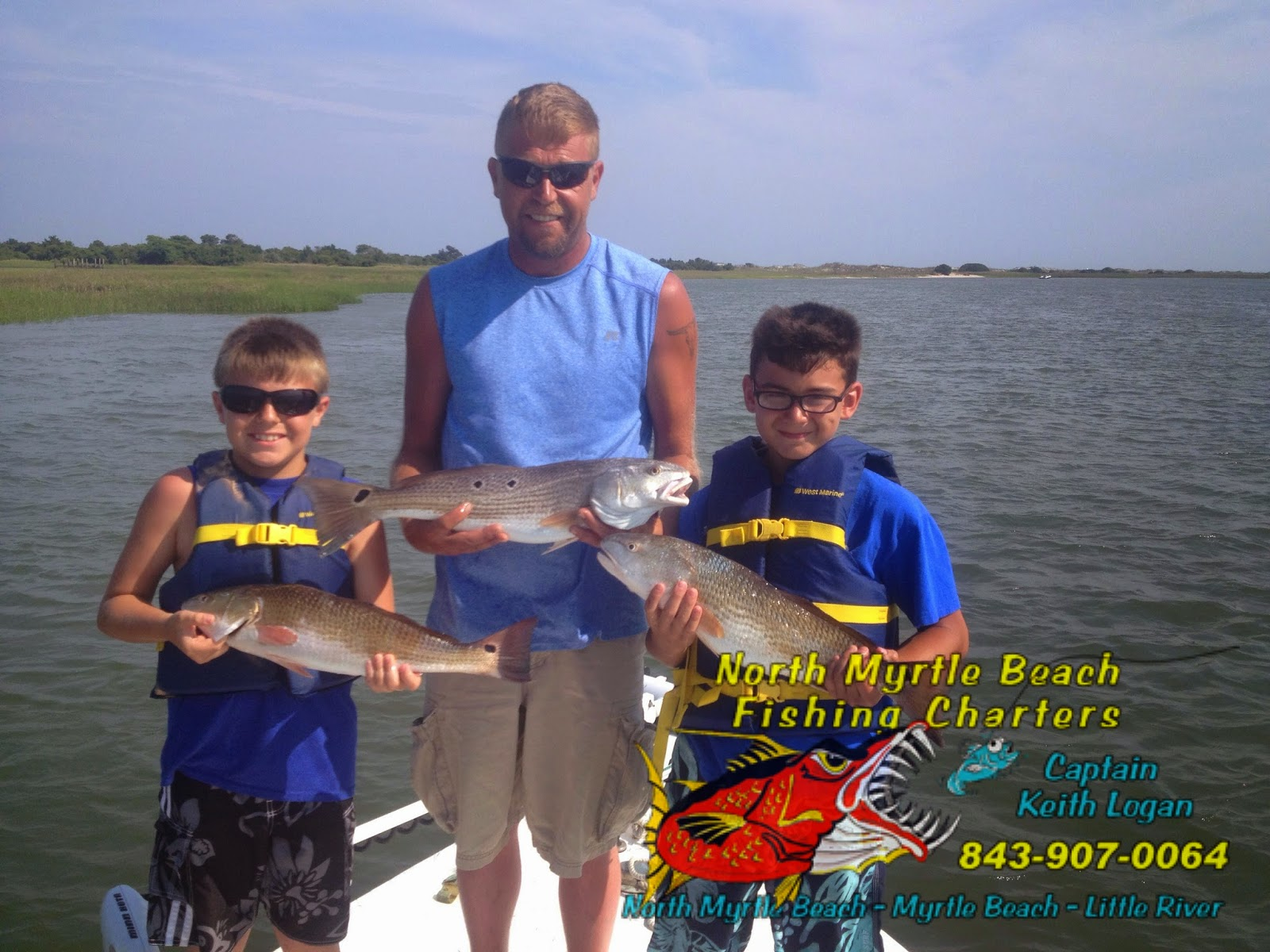 North myrtle beach fishing charters for Myrtle beach shark fishing charters
