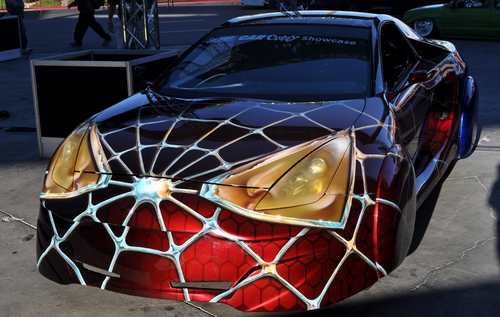 Spiderman Car Paint