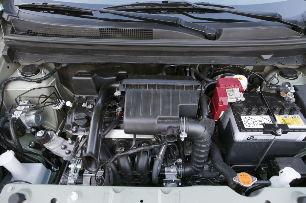 Motorul in trei cilindri Mitsubishi Space Star