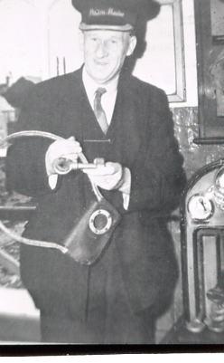 Bill Gillingham Gosport's last Station Master