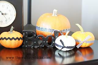 Detalhes de decoração de halloween