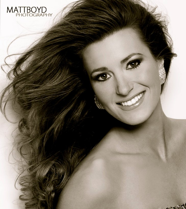 Pageant headshot by matt boyd photography atlanta ga