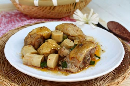 Hướng dẫn cách làm món thịt gà kho măng tươi ngon và dễ làm