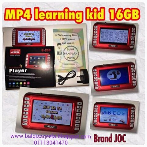 MP4 LEARNING KIDS 16GB