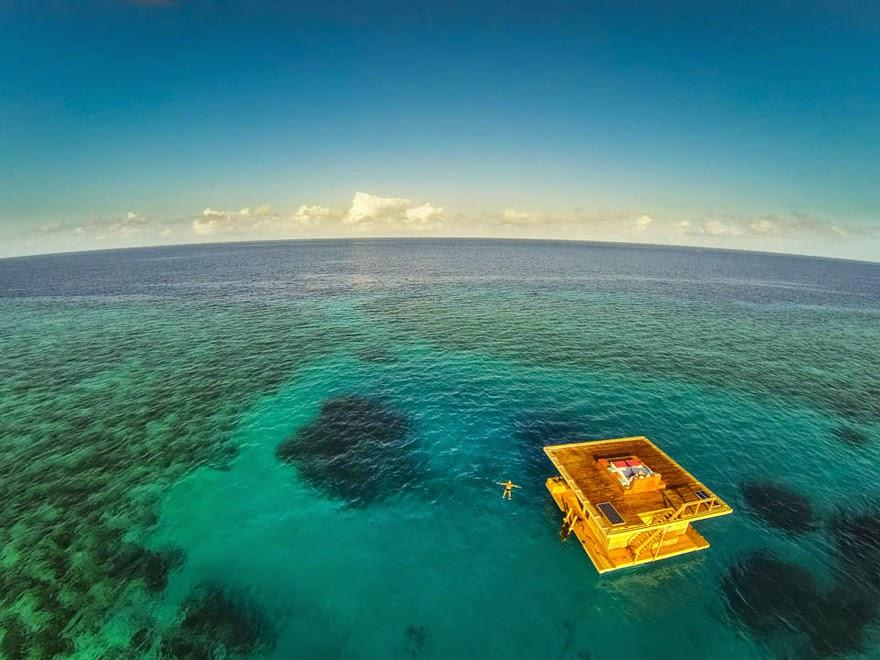 Manta Resort Underwater Room Booking