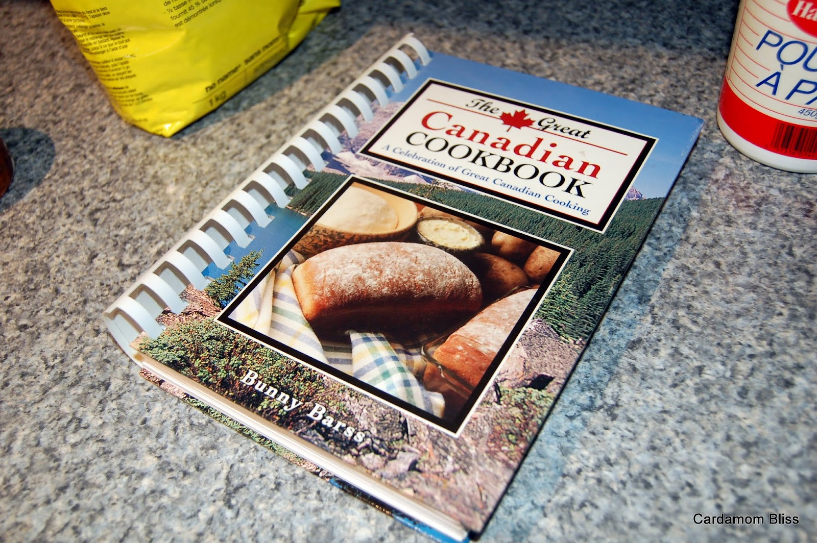 The Great Canadian Cookbook, by Bunny Barss