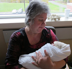 October 10, 2012    The best day ever!   The day I met my grandson, Noah.