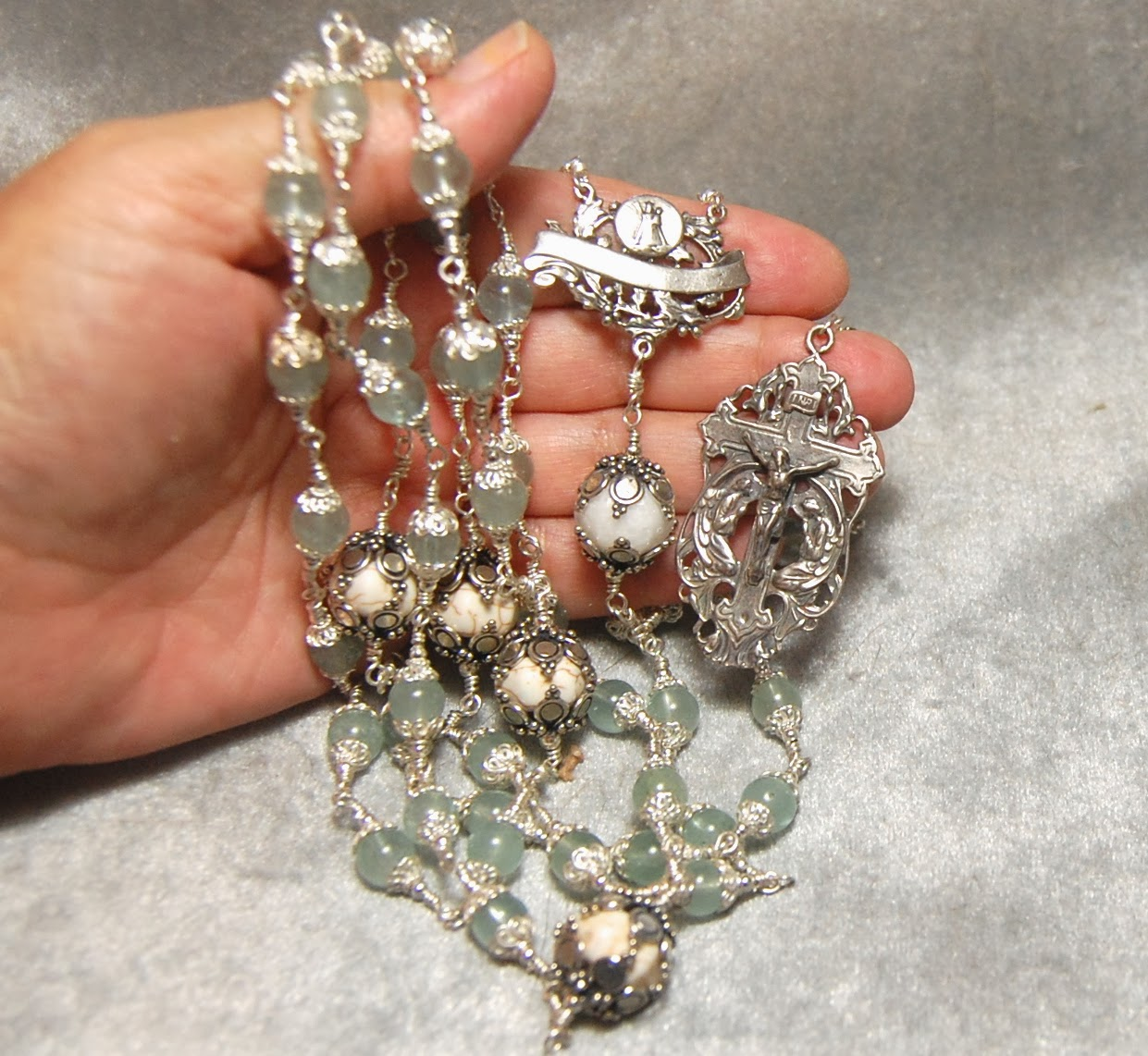 how to make rosary at home