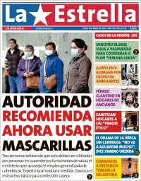 06/04/2020    CHILE  UNA  PRIMERA PÁGINA DE LA PRENSA