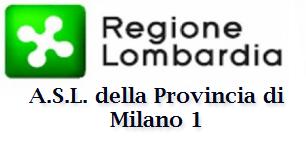 TUTTO SULLA A.S.L. DELLA PROVINCIA DI MILANO 1-  CLICCA