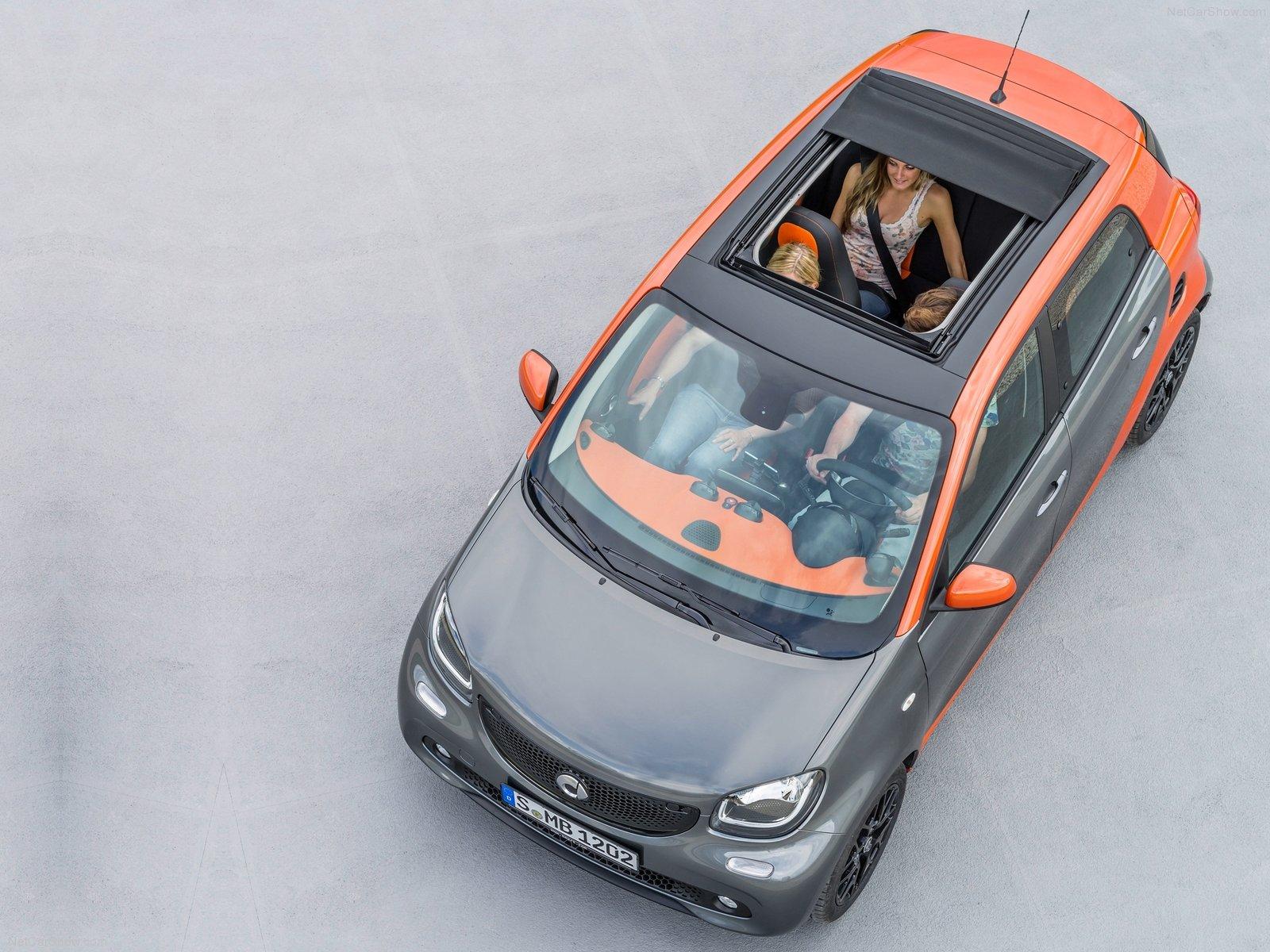 Hình ảnh xe ô tô Smart forfour 2015 & nội ngoại thất
