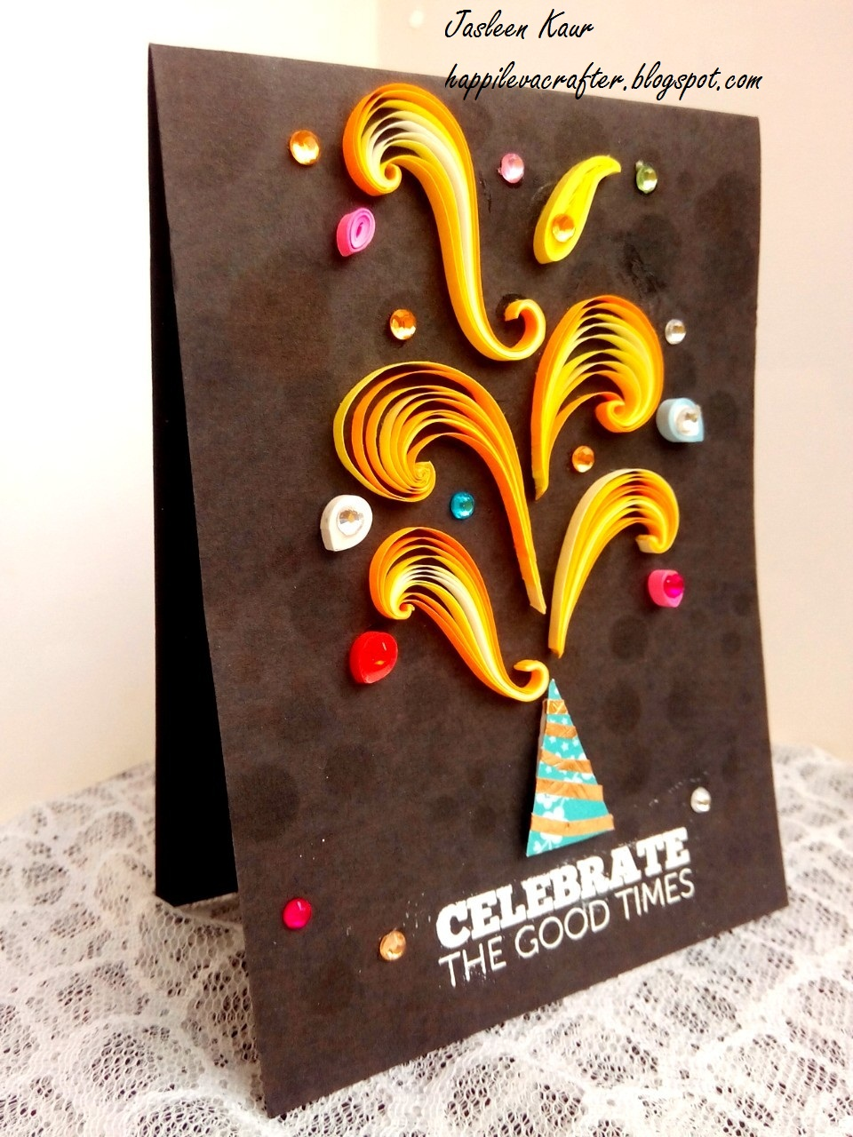 indian quilling challenge make it festive diwali cards. Black Bedroom Furniture Sets. Home Design Ideas