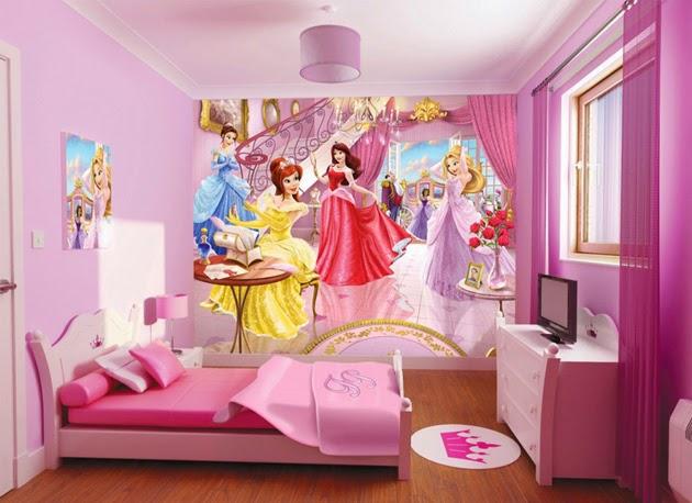 habitaciones para niñas decoración infantil