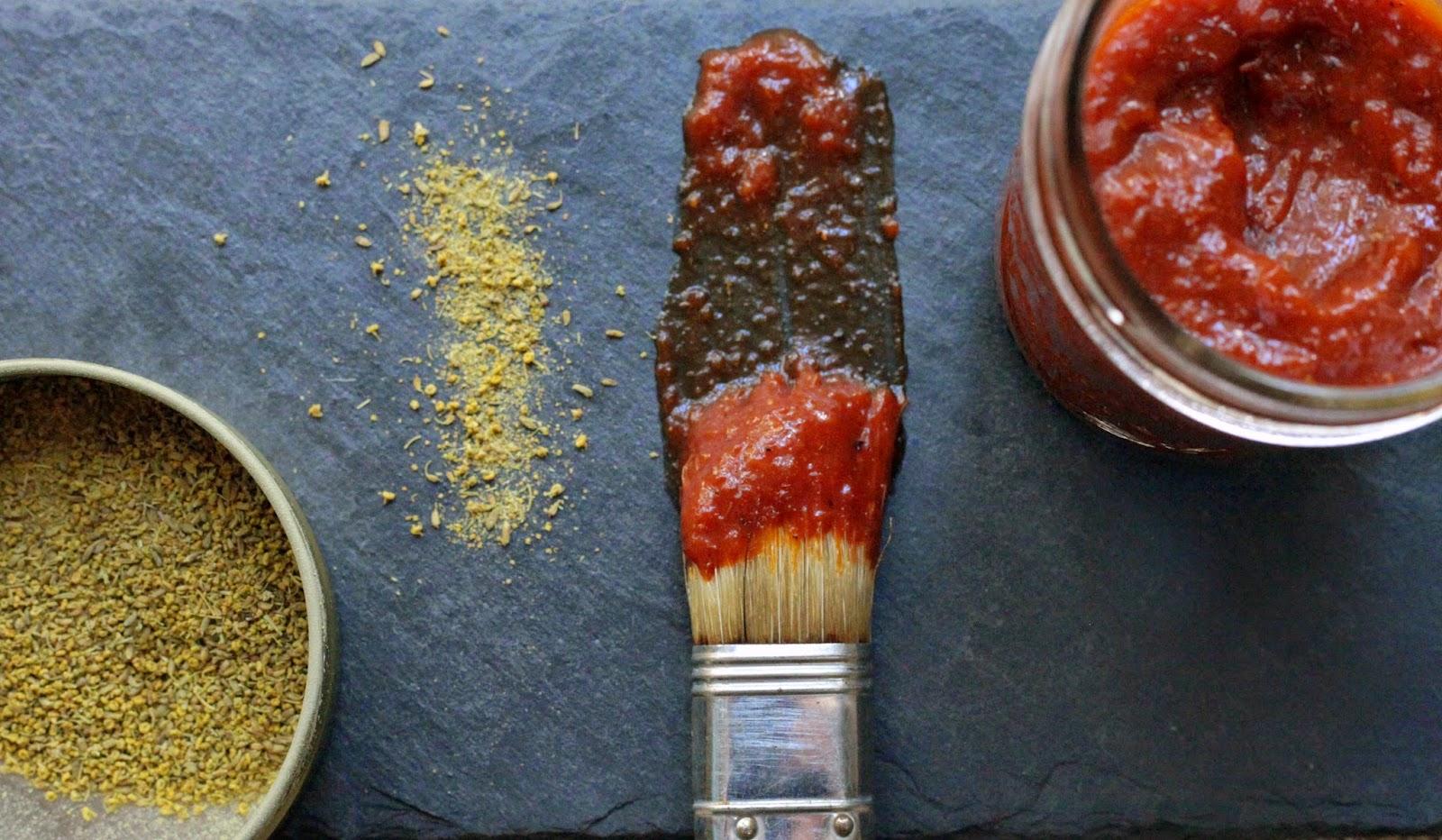 Homemade Fennel Pollen BBQ Sauce