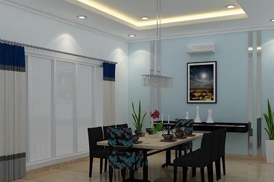 Jasa Gambar Desain Ruang Makan Rumah Minimalis Modern