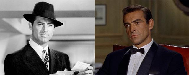 Gary Grant como James Bond (Dr. No)