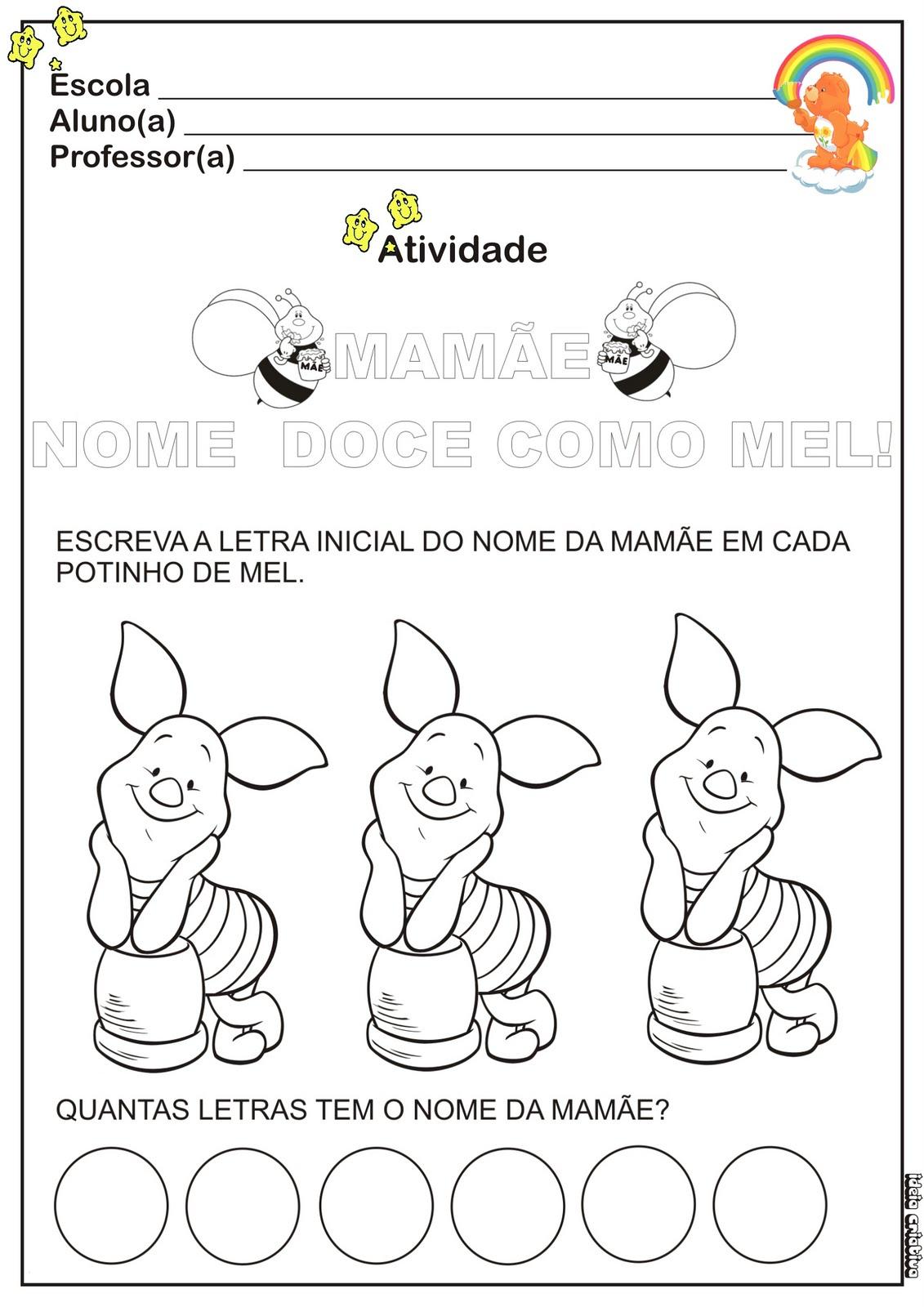Atividade Cores Prim  Rias E Secund  Rias Educa    O Infantil