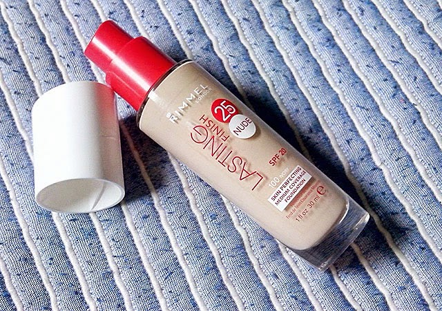Birthday Haul | Rimmel Lasting Finish Nude Ivory Foundation