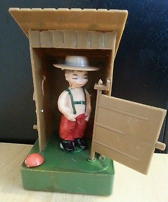 MOONBASE CENTRAL: HILLBILLY OUTHOUSE TOY