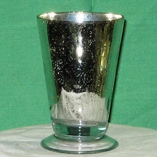 Order Small Mercury Glass Antique Vase