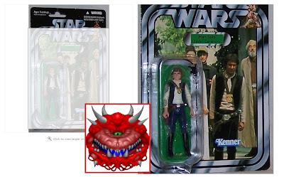игрушечный Хан Соло из звездных войн эпизод 4