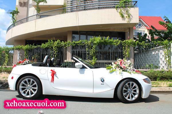 Cho thuê xe cưới mui trần BMW Z4