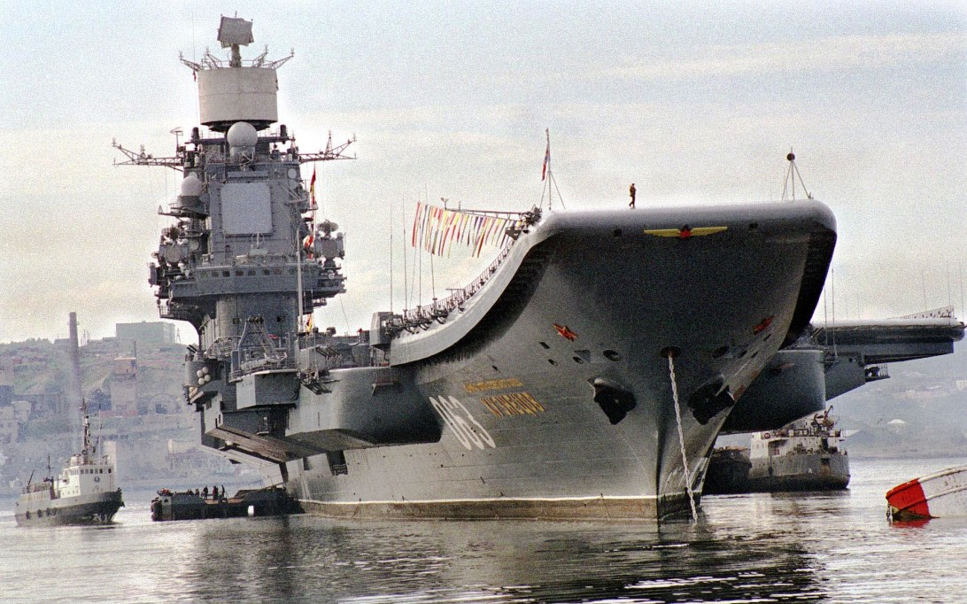 RFS Admiral Kuznetsov aircraft carrier wallpaper 4