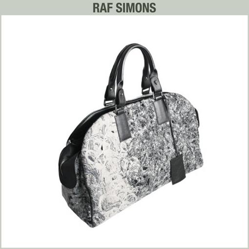 STONE BAG - RAF SIMONS