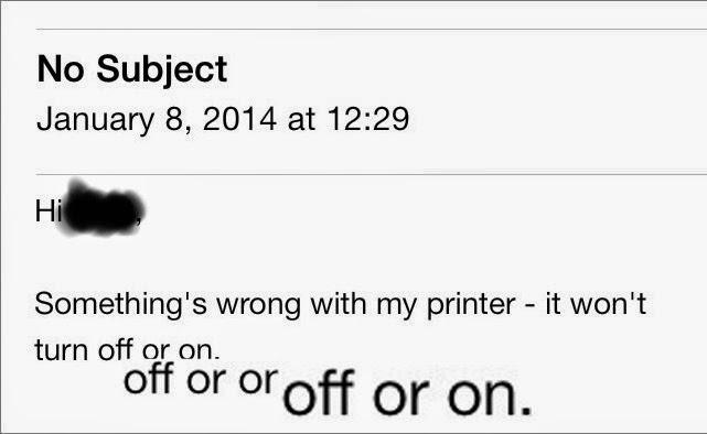 Schrödinger's Printer