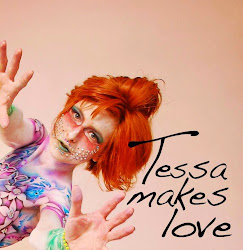 Tessa Lena: Experimental Music:: body paint:Derrick Little