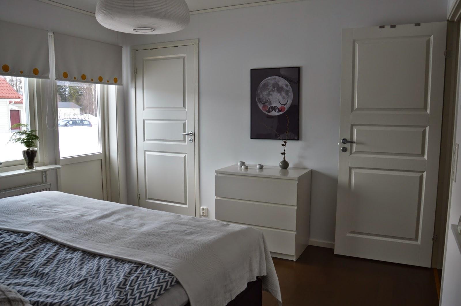 Hanna - vardag på Södra Maranvägen: Stora sovrummet i vårt Tyr