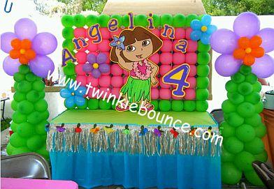 Dora Birthday Decorations
