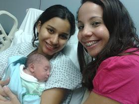 Nasceu o Nícolas, em um parto natural humanizado após um rápido trabalho de parto!