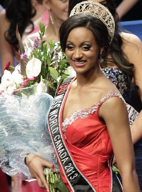 Miss World Canada 2013 Camille Munro