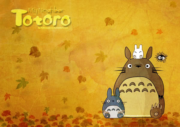 TWILIGHT BLOGGING ZONE Totoro Wallpaper Favourite