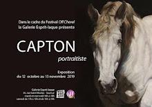 SAUMUR : FESTIVAL OFF CHEVAL, LA GALERIE ESPRIT-LAQUE PRÉSENTE LES PORTRAITS DE CHEVAUX DE CAPTON
