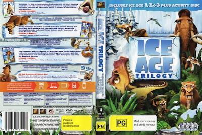 Ice Age trilogy DVD