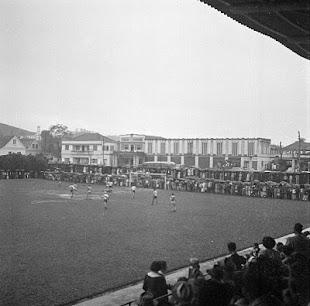 Estádio Augusto Bauer, anos 50