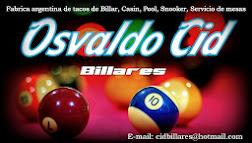 Osvaldo Cid billares