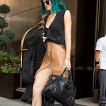 Kylie Jenner Upskirt OOPS Moment in New York