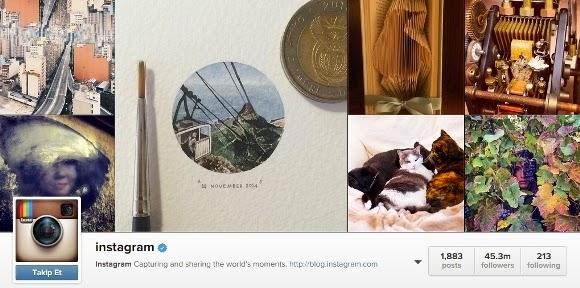 Instagram da takipçi sayıları değişti haberhane