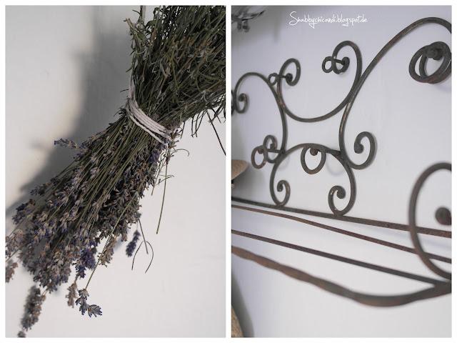 Lavendel und Hutablage