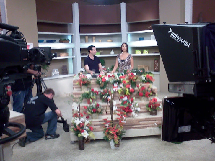 "Ikebana de Natal TV Gazeta ""Mulheres."""